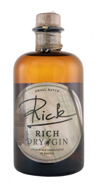 Rick RICH Dry Gin - 0,5L 43% vol