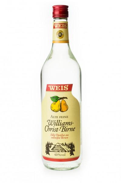 Weis Alte Feine Williams-Christ Birne - 1 Liter 40% vol