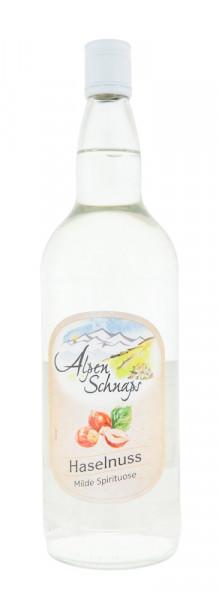 Alpenschnaps Steinbeisser Haselnussaroma - 1 Liter 33% vol