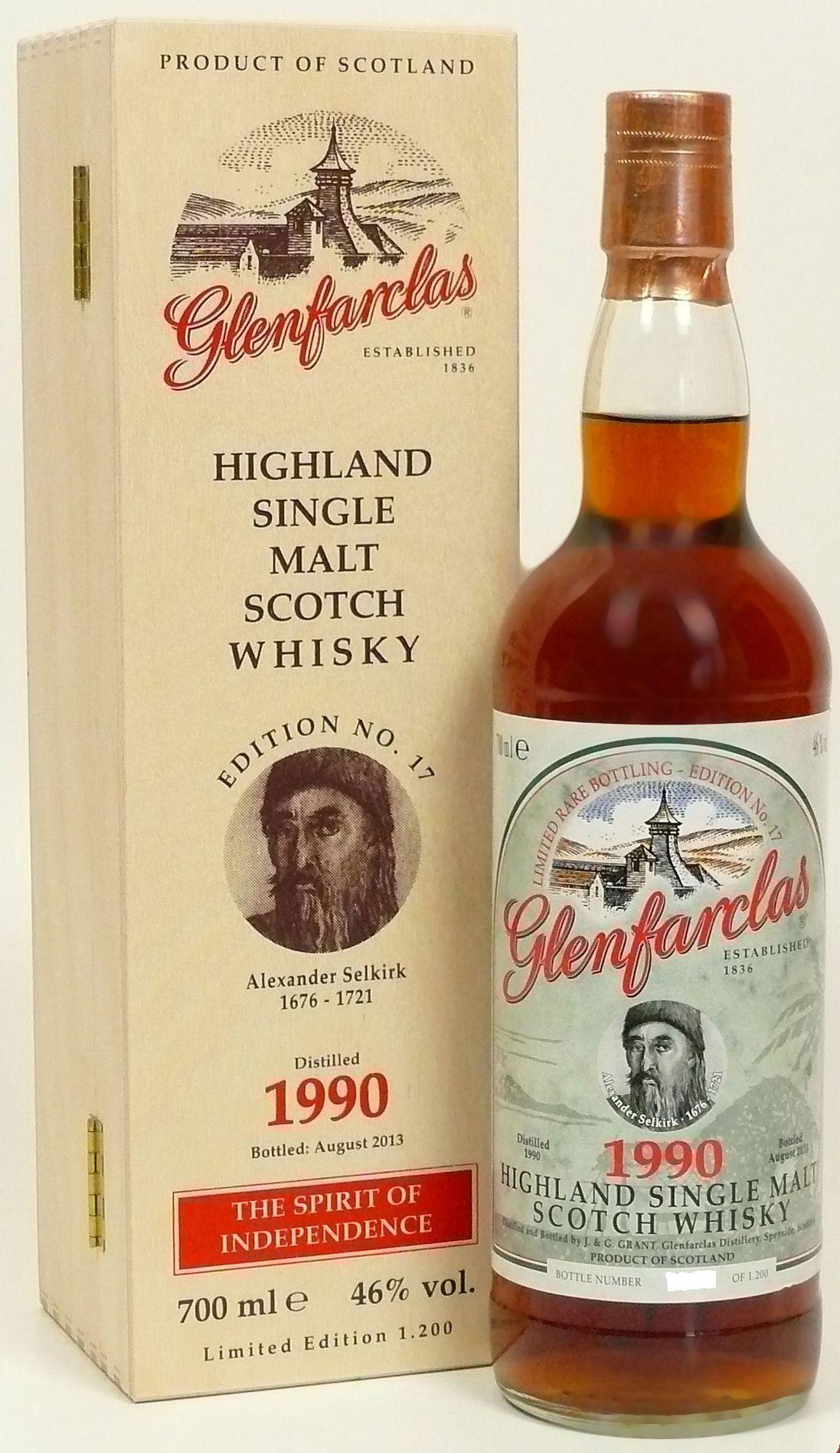 Glenfarclas Edition No. 17 Alexander Selkirk