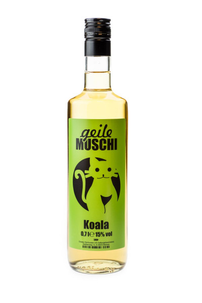 Geile Muschi Koala Eukalyptus Likör - 0,7L 15% vol