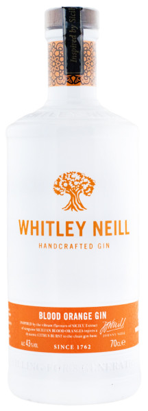 Whitley Neill Blood Orange Dry Gin - 0,7L 43% vol