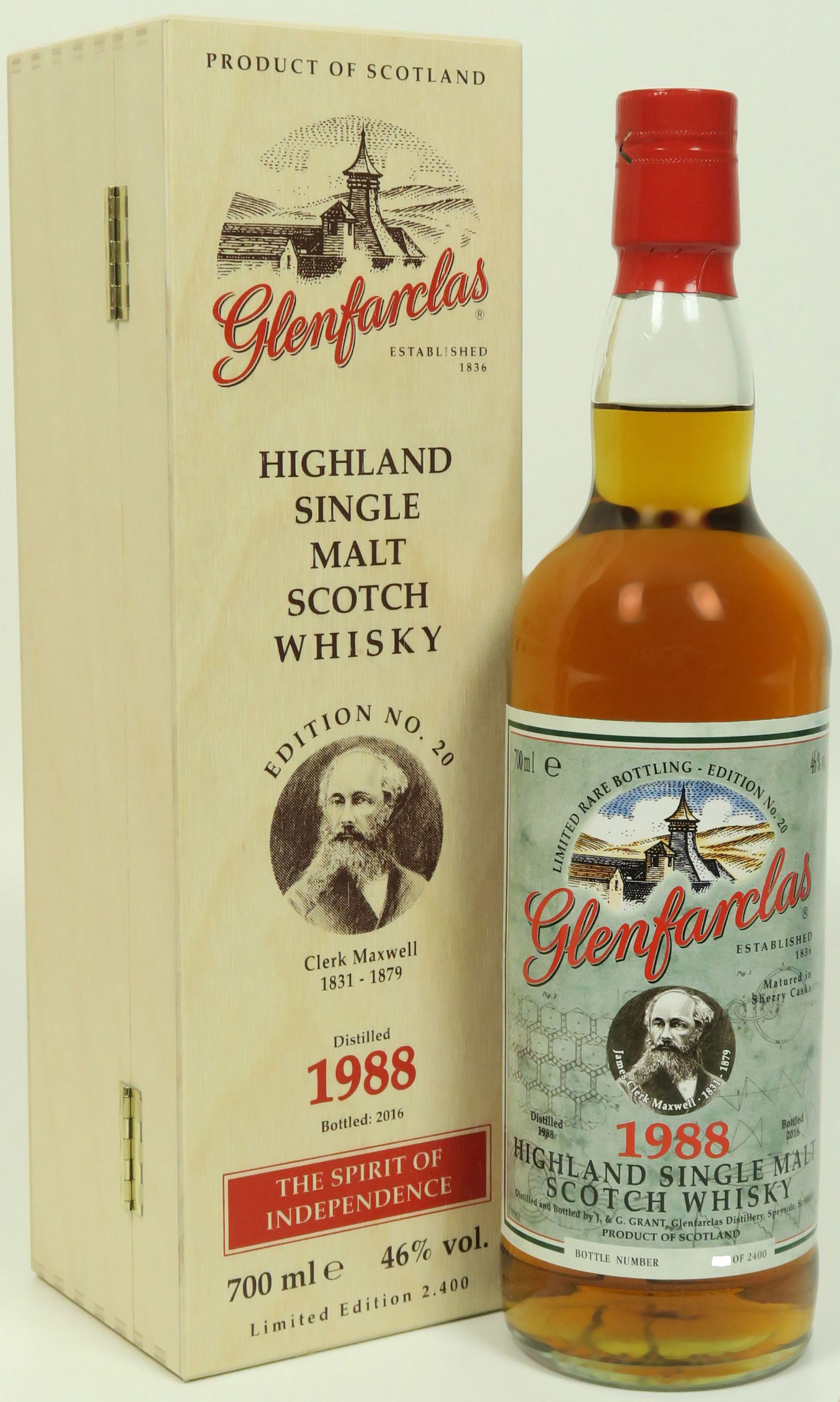Glenfarclas Edition No. 20 James Clerk Maxwell