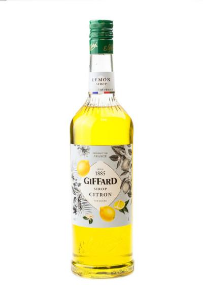 Giffard Zitrone Sirup Citron - 1 Liter