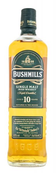 Bushmills 10 Jahre Single Malt Irish Whiskey - 0,7L 40% vol