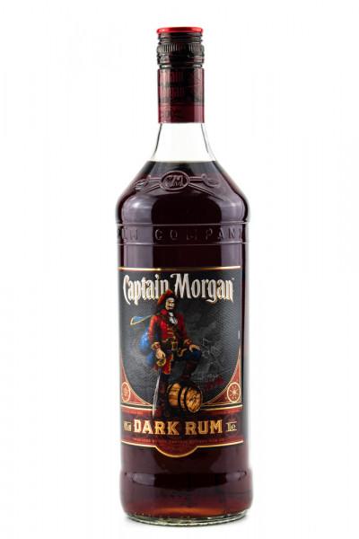Captain Morgan Black Label Dark Rum - 1 Liter 40% vol