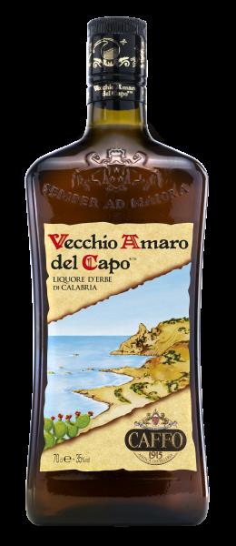 Caffo Vecchio Amaro del Capo Kräuterlikör - 0,7L 35% vol