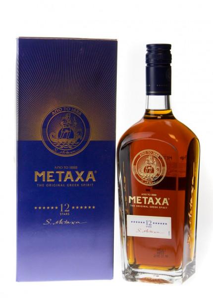 Metaxa 12 Sterne - 0,7L 40% vol