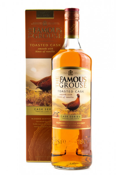 Famous Grouse Toasted Cask - 1 Liter 40% vol