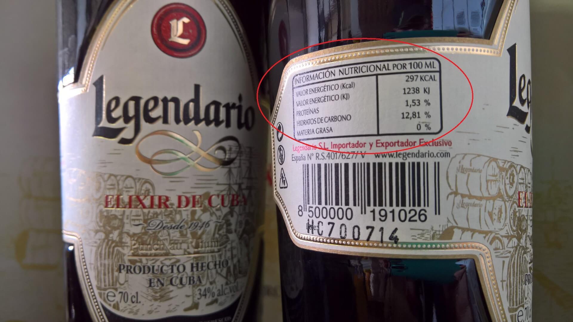 Kennzeichnungspflicht für Zutaten und Nährwerte bei Spirituosen ...