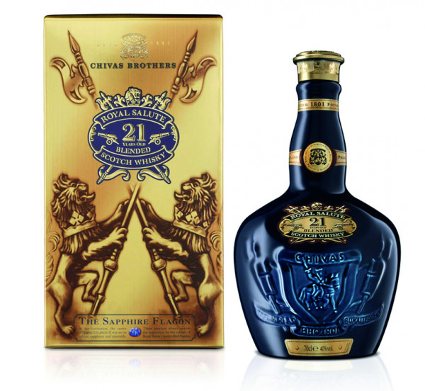 Chivas Royal Salute 21 Jahre Blended Scotch Whisky - 0,7L 40% vol