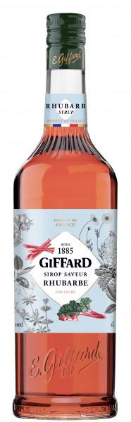 Giffard Rhabarber Sirup Rhubarbe - 1 Liter