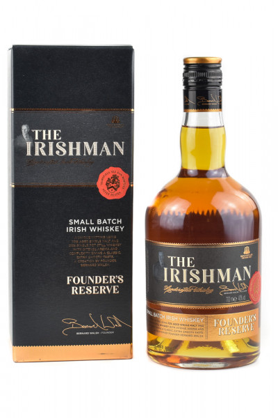 The Irishman Founders Reserve Whiskey - 0,7L 40% vol