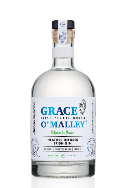 Grace O'Malley Heather Infused Irish Gin - 0,7L 43% vol