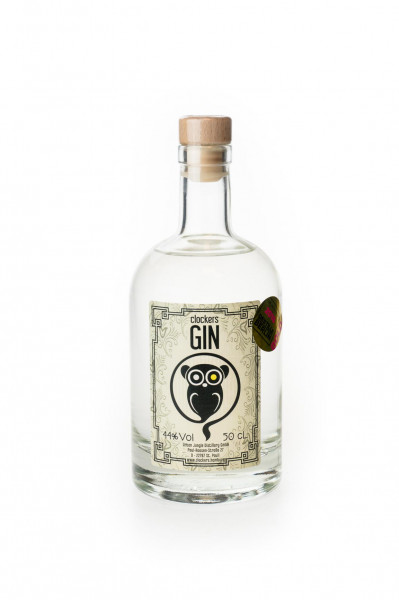 Clockers Gin - 0,5L 44% vol