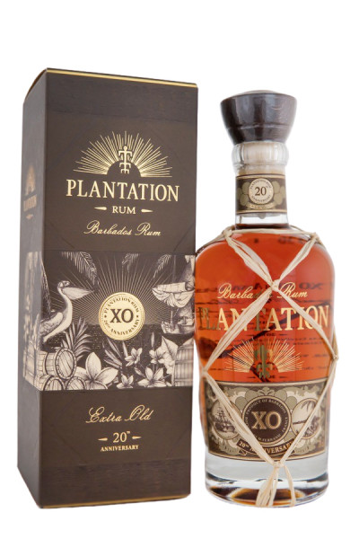 Plantation 20th Anniversary XO Rhum - 0,7L 40% vol