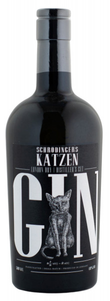 Schrödingers Katzen Gin Distillers Cut - 0,5L 48% vol