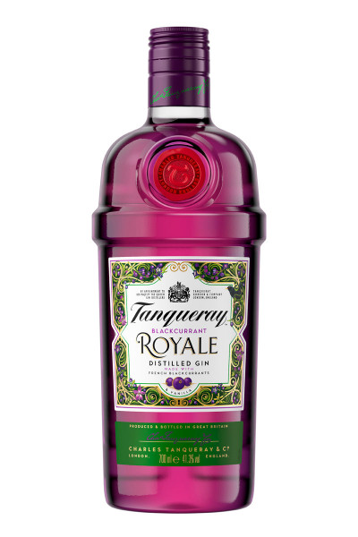 Tanqueray Blackcurrant Royale Gin - 0,7L 41,3% vol