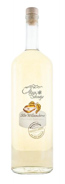 Alpenschnaps Alte Williamsbirne Fassgelagert - 1 Liter 41,8% vol
