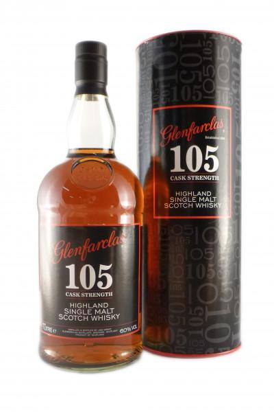 Glenfarclas 105, Speyside Single Malt - 60% vol - (1 Liter)