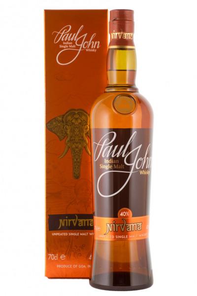 Paul John Nirvana Unpeated Single Malt Whisky - 0,7L 40% vol