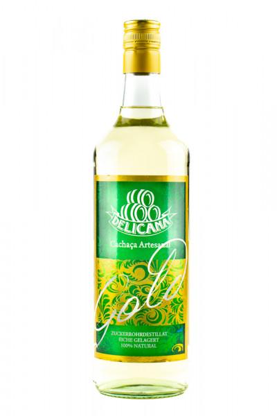 Delicana Gold Cachaca - 1 Liter 38% vol