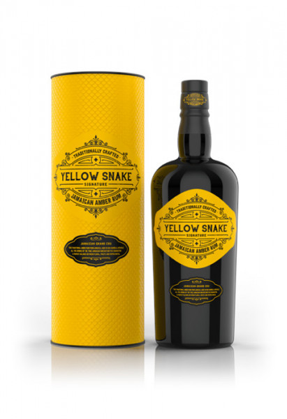 Yellow Snake Jamaican Amber Rum - 0,7L 40% vol