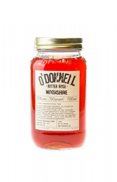 ODonnell Moonshine Bitter Rose - 0,7L 25% vol