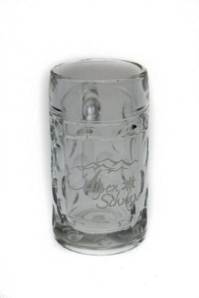 Alpenschnaps Big-Krug Stamper Glas