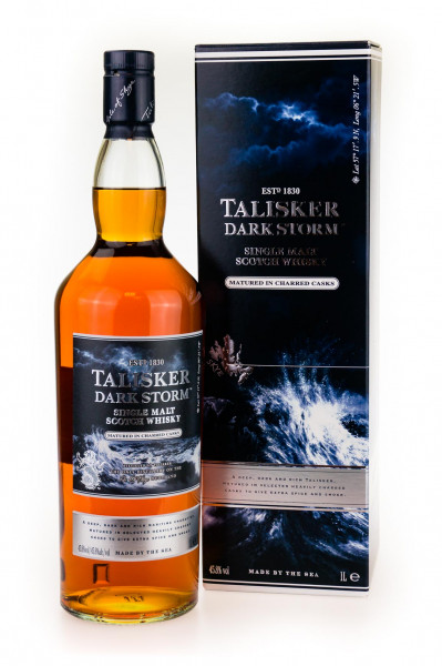 Talisker Dark Storm Single Malt Scotch Whisky - 1 Liter 45,8% vol