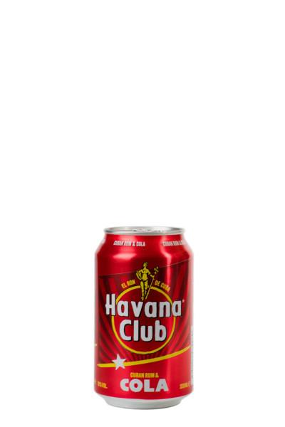 Havana Club & Cola - 0,33L 10% vol
