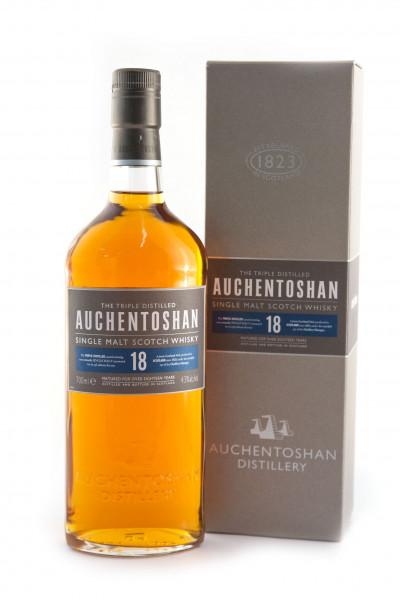 Auchentoshan 18 Jahre, Lowland Single Malt Scotch Whisky - 43% vol - (0,7L)