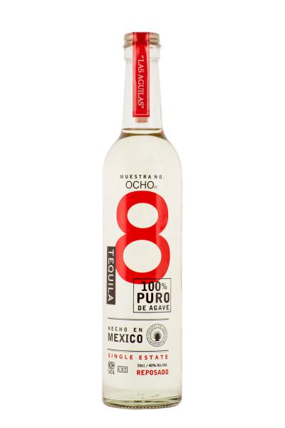 Ocho Reposado Tequila - 0,5L 40% vol
