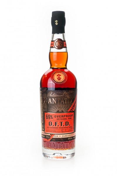 Plantation O.F.T.D. Overproof Rum - 0,7L 69% vol