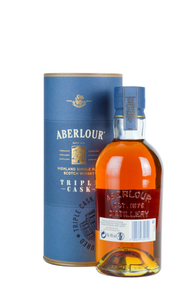 Aberlour Triple Cask Highland Single Malt Scotch Whisky - 0,7L 40% vol