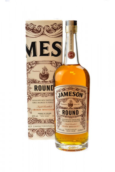 Jameson Round Irish Whiskey - 1 Liter 40% vol