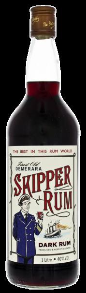 Skipper Demerara Rum - 1 Liter 40% vol