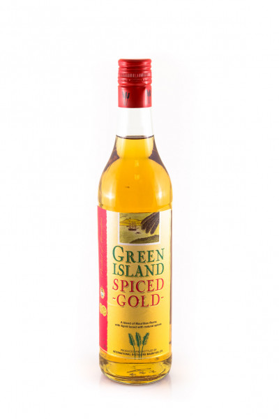 Green Island Spiced Gold Rum 6941