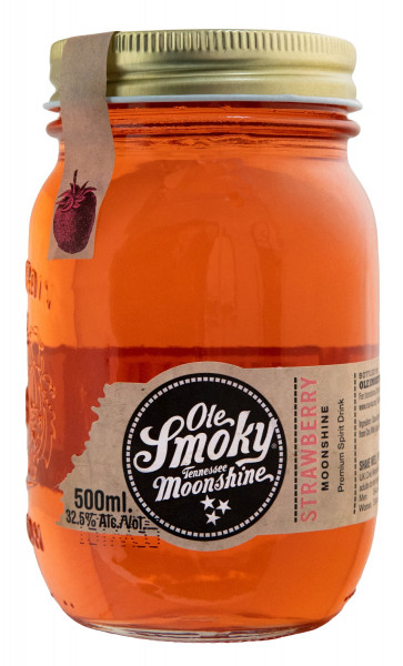 Ole Smoky Strawberry Moonshine - 0,5L 32,5% vol