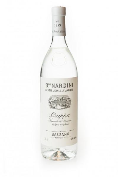 Nardini Grappa Acquavite Bianca - 1 Liter 50% vol