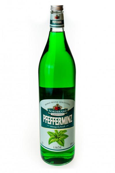Nordbrand Pfeffi Pfefferminz-Likör - 3L 18% vol
