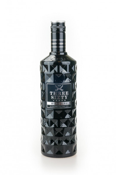 Three Sixty Vodka Black 42 Diamond - 0,7L 42% vol
