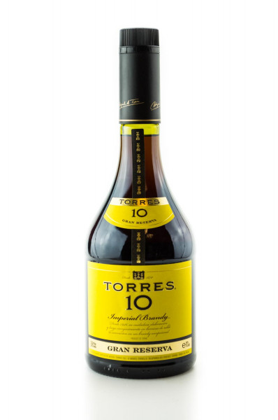 Torres 10 Imperial Brandy Gran Reserva - 0,7L 38% vol