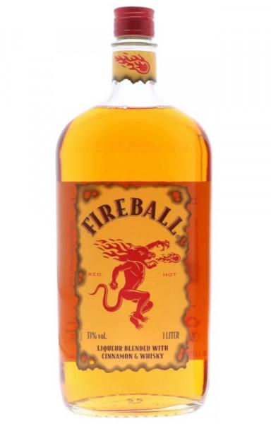 Fireball Whisky-Likör - 1 Liter 33% vol