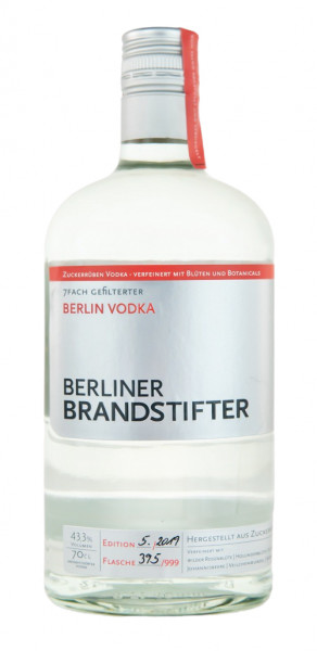 Berliner Brandstifter Vodka - 0,7L 43,3% vol