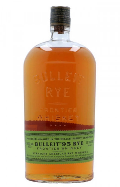 Bulleit Rye Straight 95% Rye Mash Whiskey - 1 Liter 45% vol