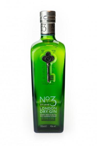 No. 3 London Dry Gin - 0,7L 46% vol