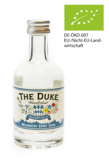 The Duke Wanderlust Bio Gin Tasting - 0,05L 47% vol