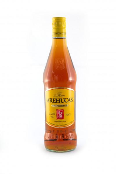 Arehucas Oro, Premium Rum Kanarische Inseln - 37,5% vol - (0,7L)