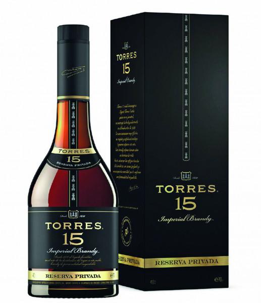 Torres 15 Jahre Reserva Privada Brandy - 0,7L 40% vol
